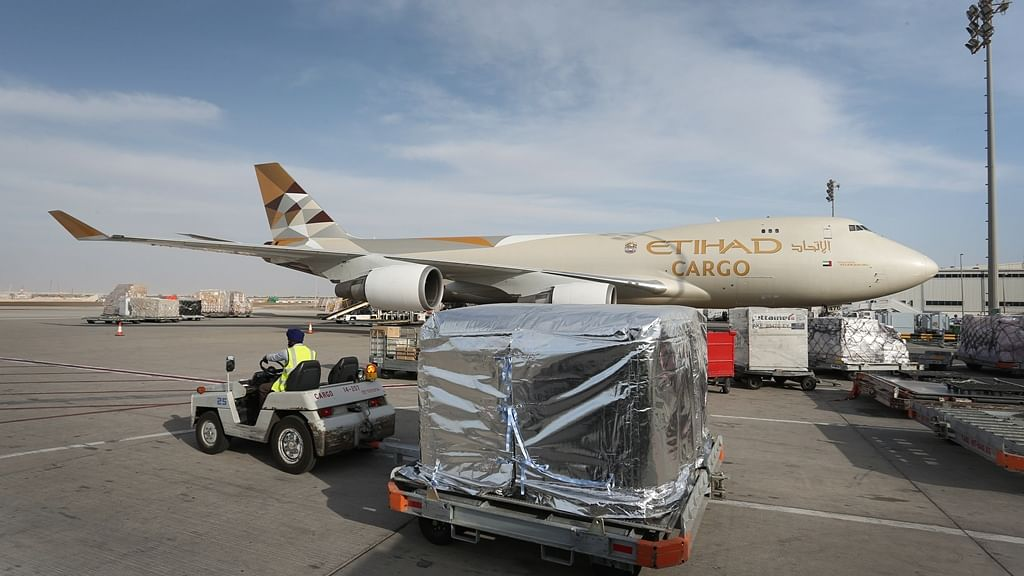Etihad Cargo Reports 50% Y-O-Y Rise in Pharma Shipments