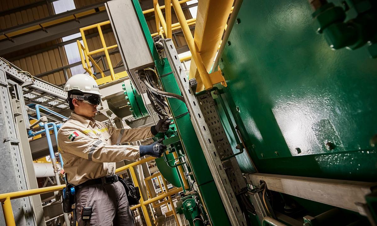 EGA's New Al Taweelah Alumina Refinery Records Production Milestone