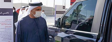 Al Tayer Endorses Improvement Projects for Dubai Taxi in 2021