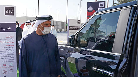 Al Tayer Endorses Improvement Projects for Dubai Taxi in 2021