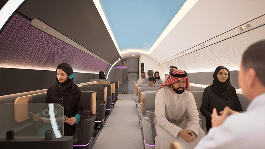 DP World Virgin Hyperloop Unveil The Future of Transport