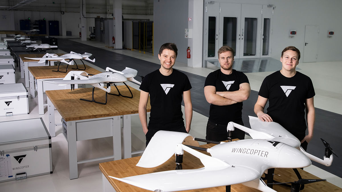 Drone Logistics Pioneer WingCopter Secures $22 Million Funding