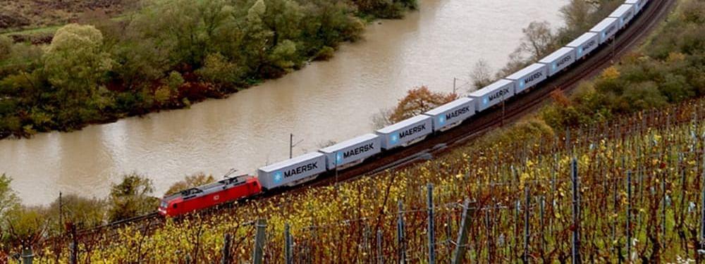 Maersk Increases Sustainable Rail Transport Alternatives