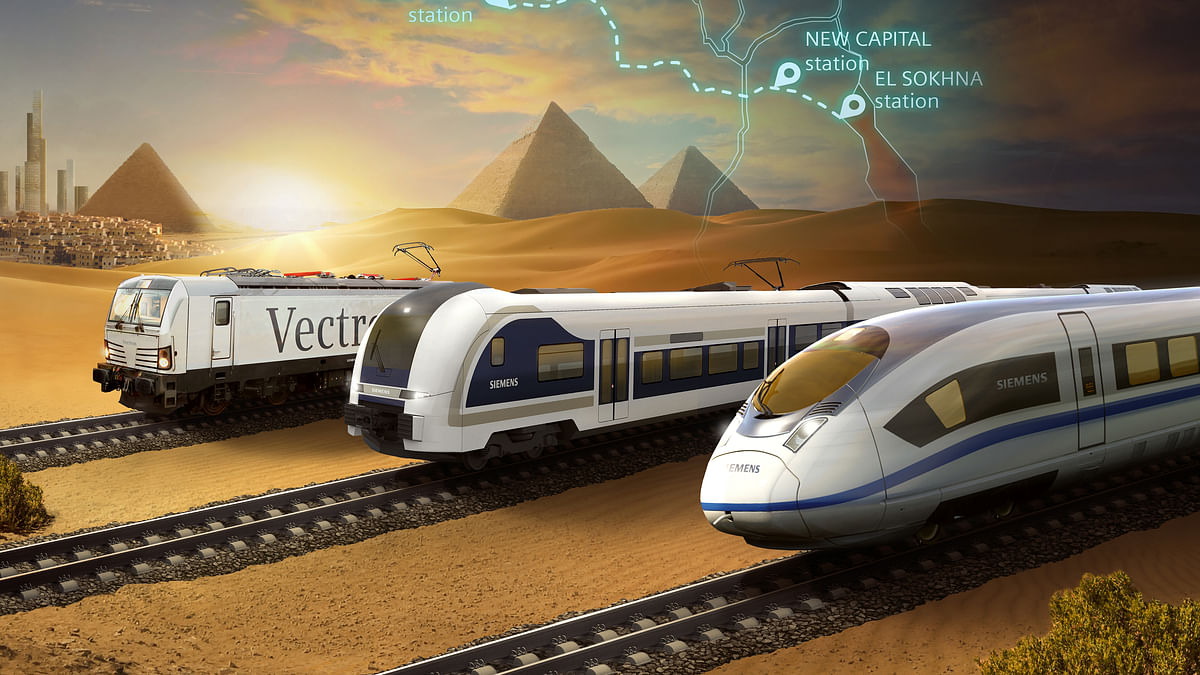 Siemens Mobility to Install Egypt's First Ever High-Speed Rail System