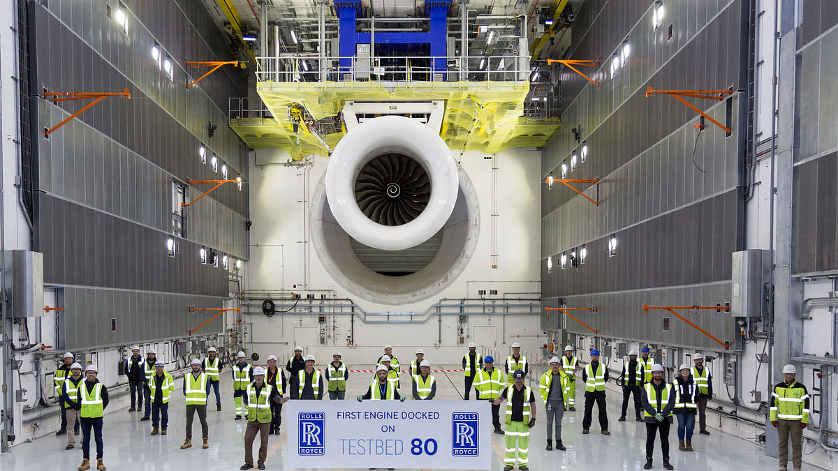 Rolls-Royce Tests 100% Sustainable Aviation Fuel for Business Jets