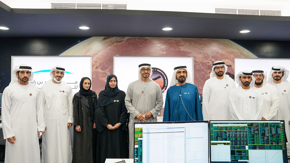 The UAE Makes History as the First Arab Nation to Reach Mars
