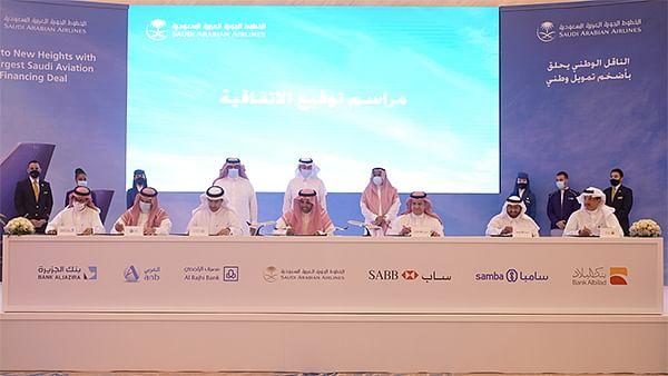 Saudia Signs $3 Billion Financing Agreement to Expand Fleet