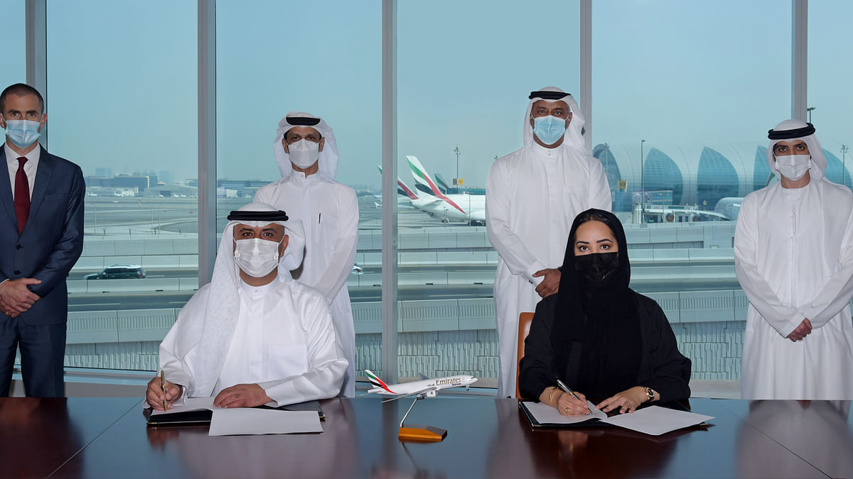 Emirates SkyCargo and DCAA Sign MoU for Transport of Dangerous Goods