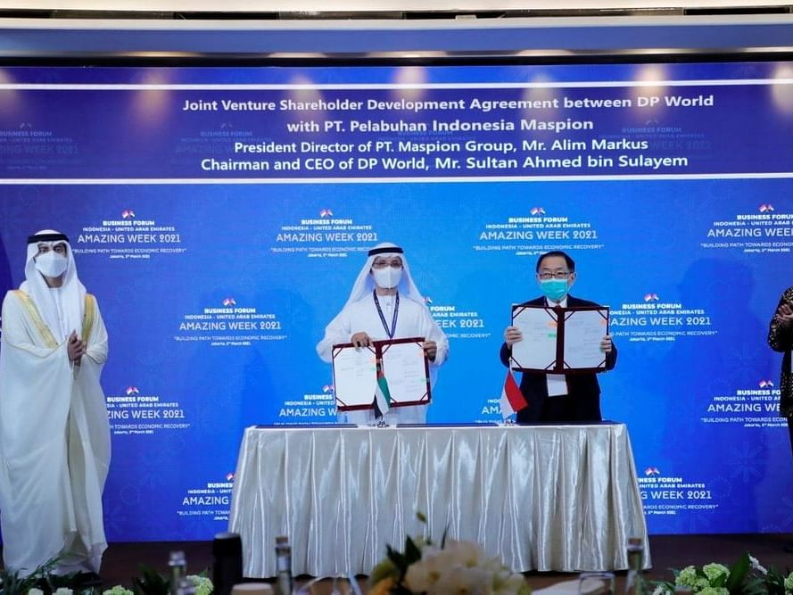 DP World Signs Deal to Build $1.2 Billion Container Port in East Java