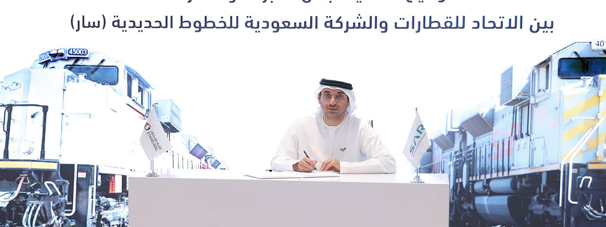 Etihad Rail and Saudi Railway Company Sign Cooperation Agreement