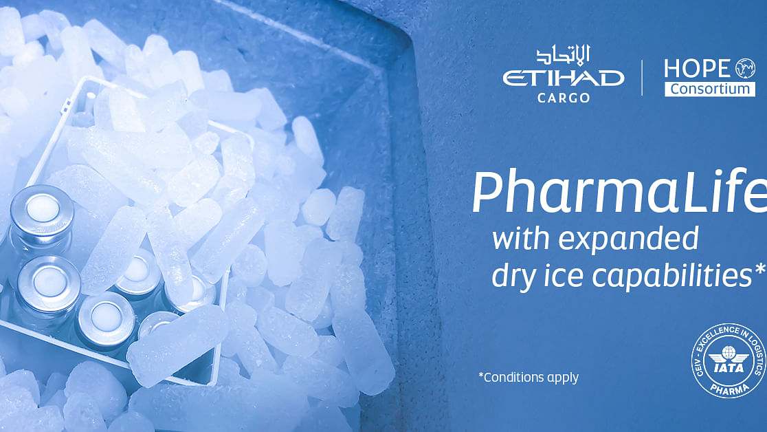 Etihad Cargo Ups Dry Ice Capabilities for Global Vaccine Distribution