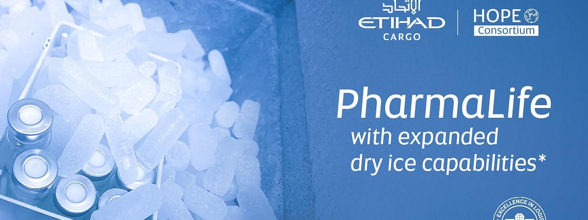 Etihad Cargo Ups Dry Ice Capabilities for Global Vaccine Distribution