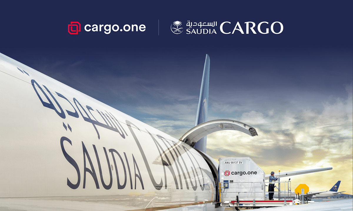 Saudia Cargo Enters into Digital Partnership with cargo.one