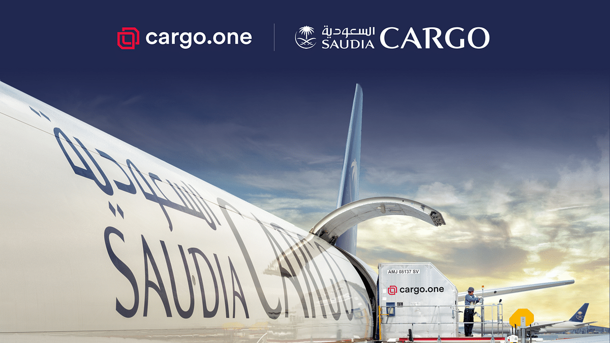 Saudia Cargo Enters into Digital Partnership with cargo.one