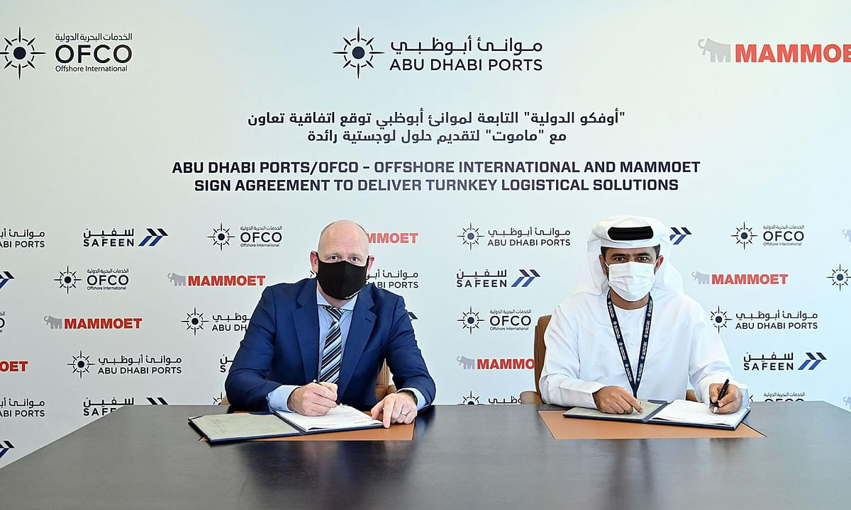 Abu Dhabi Ports' OFCO Partners with Mammoet for Turnkey Logistics