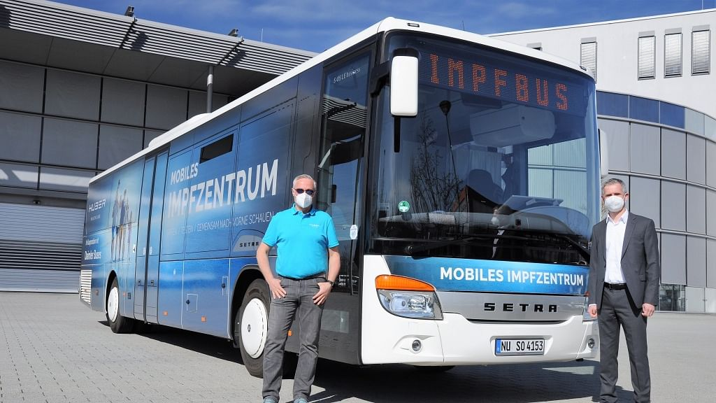 Daimler Buses Support Covid-19 Vaccination Campaign