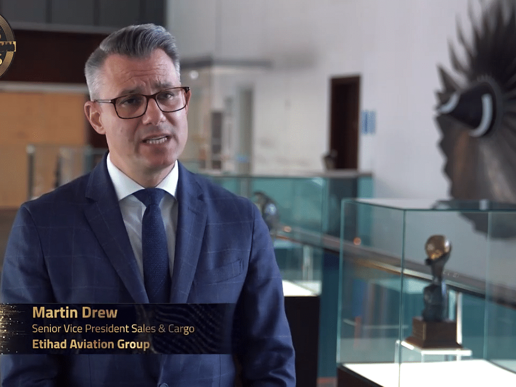 Watch: Etihad VP Explains Cargo was the Lifeline During the Pandemic