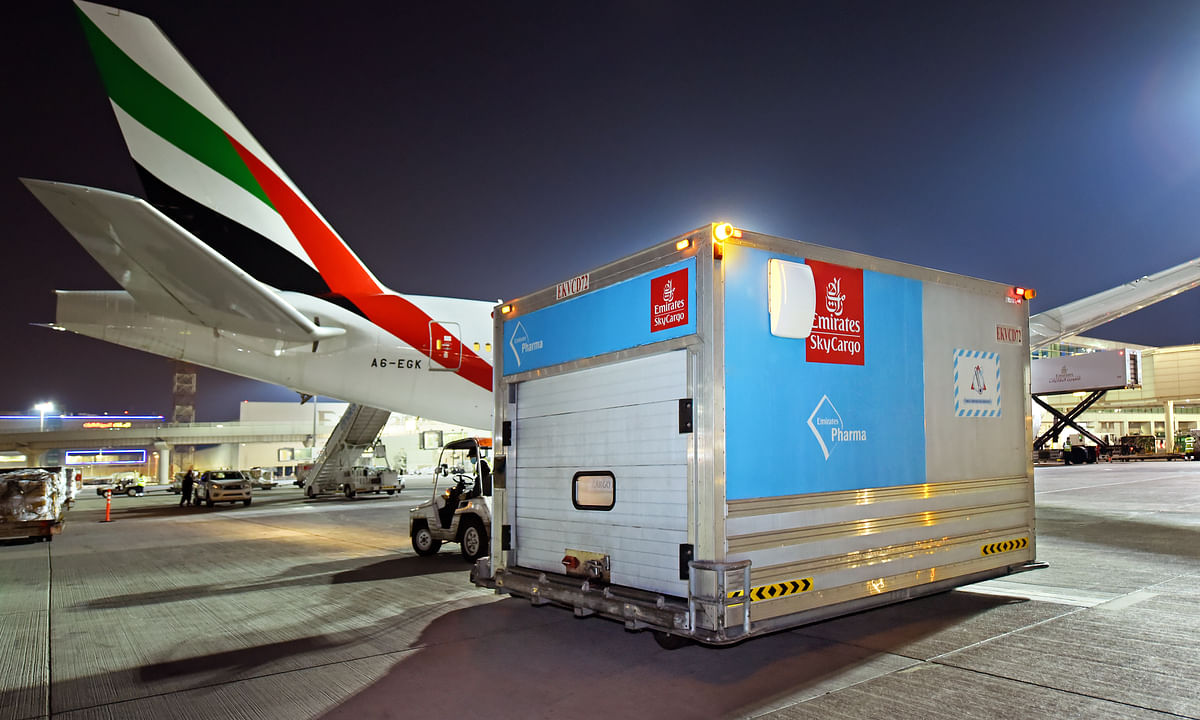 Dubai, Emirates SkyCargo Play Central Role in Global COVID-19 Response