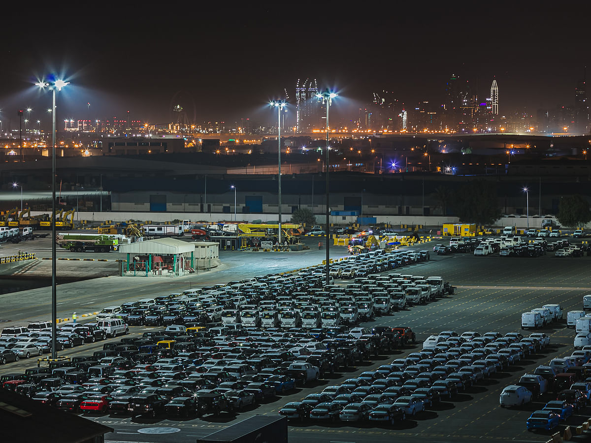 GEFCO Partners with DP World for Car Storage Solutions at Jebel Ali