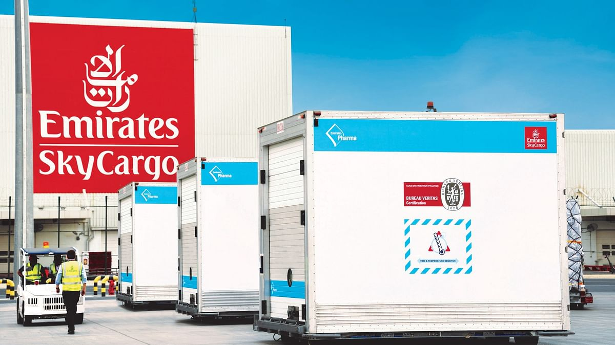 Emirates SkyCargo First to Deliver 50 Million COVID-19 Vaccine Doses
