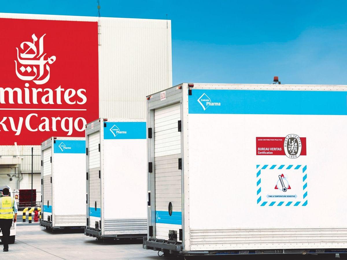 Emirates SkyCargo First to Deliver 50 Million COVID-19 Vaccine Doses