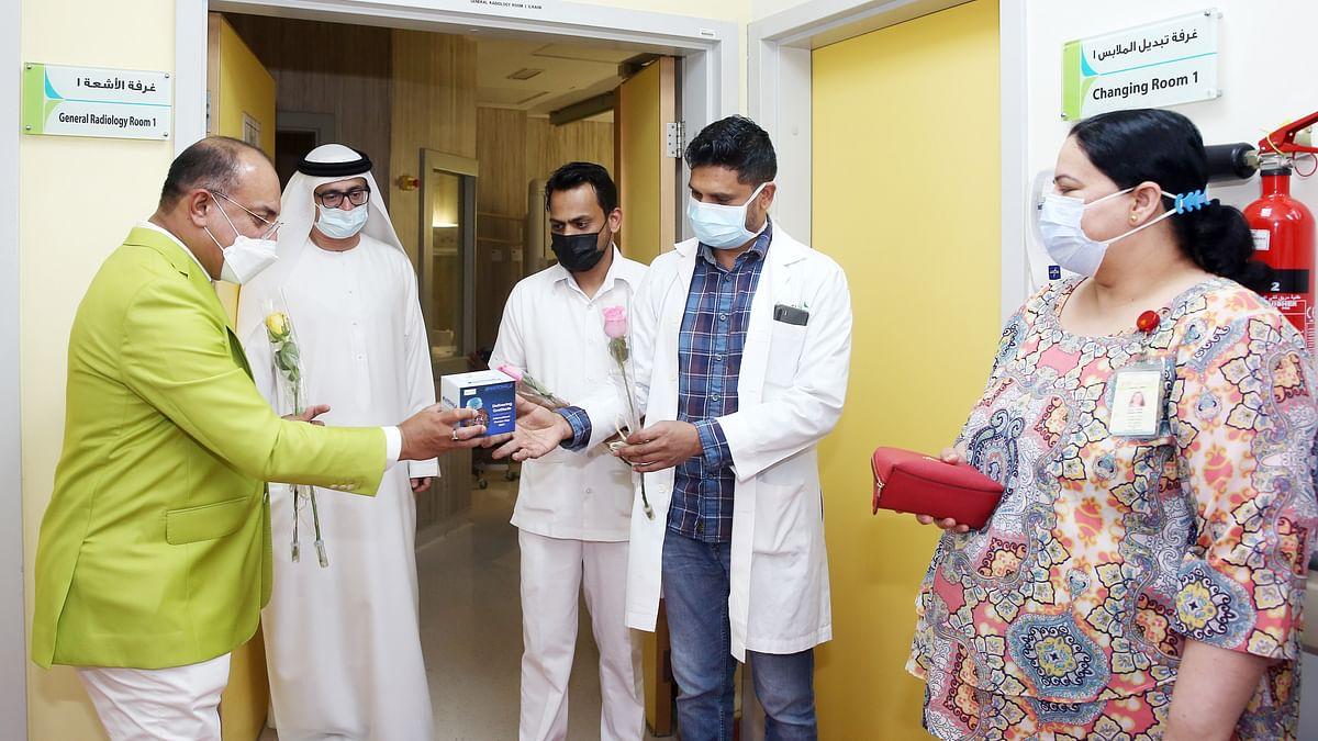 National Air Cargo and Dubai Health Authority Honour Health Workers