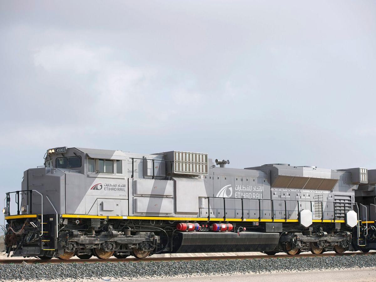 Etihad Rail to Develop Digital Logistics Services with Transportr