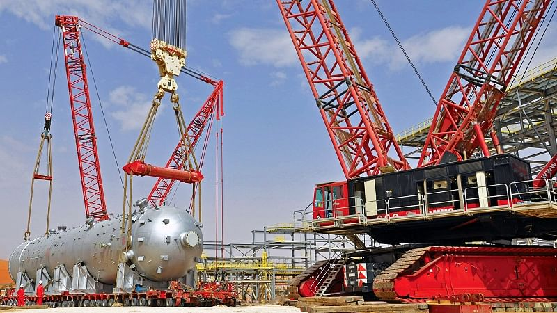 Mammoet to Provide Heavy Lift  Transport for Saudi Aramco Project