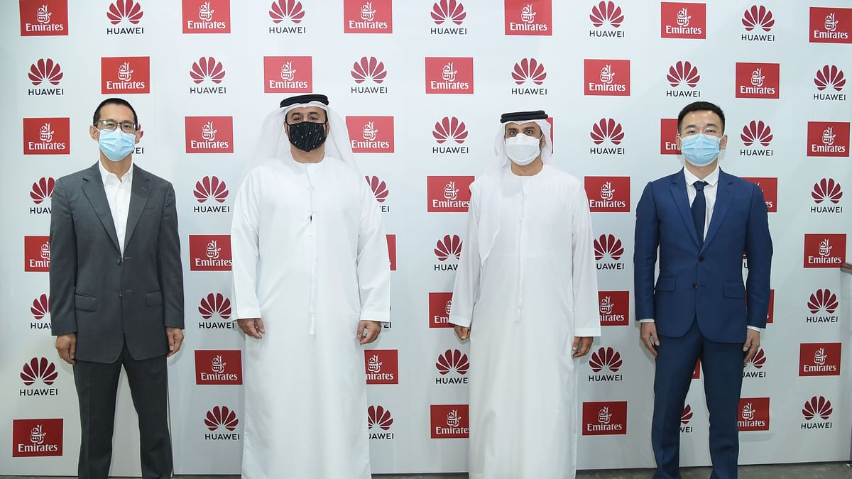 Emirates Inks Strategic Deal with Global Tech Giant Huawei at ATM