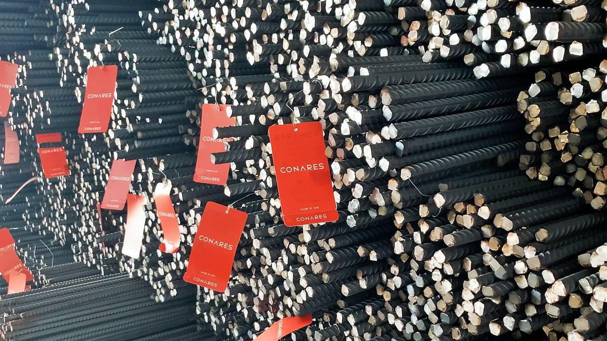DP World UAE Region Exports 75,000 Tonnes of Rebar for Conares