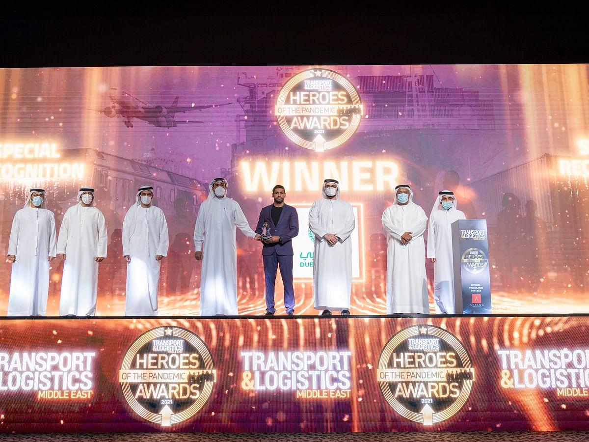 Dubai Police is Hero of the Pandemic (Transport & Logistics Authority)