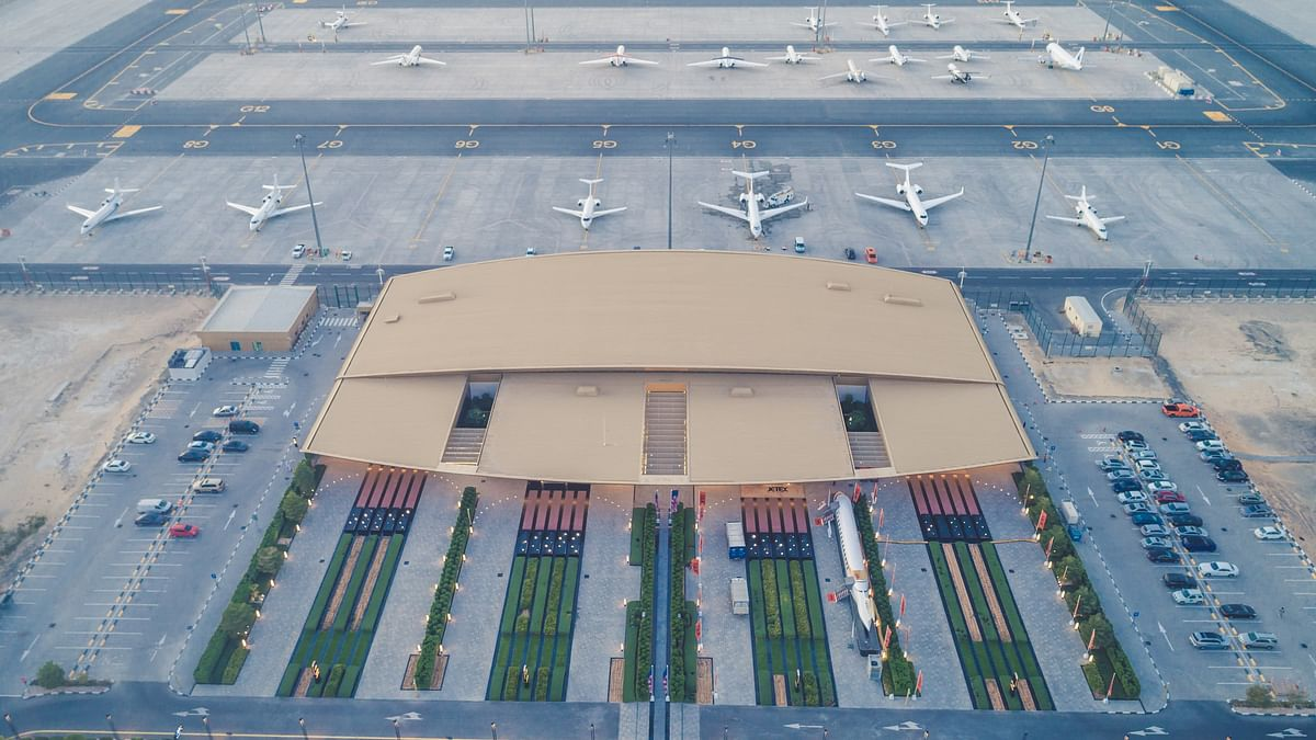 Private Jet Movements at Dubai South VIP Terminal Up 346% in H1 2021