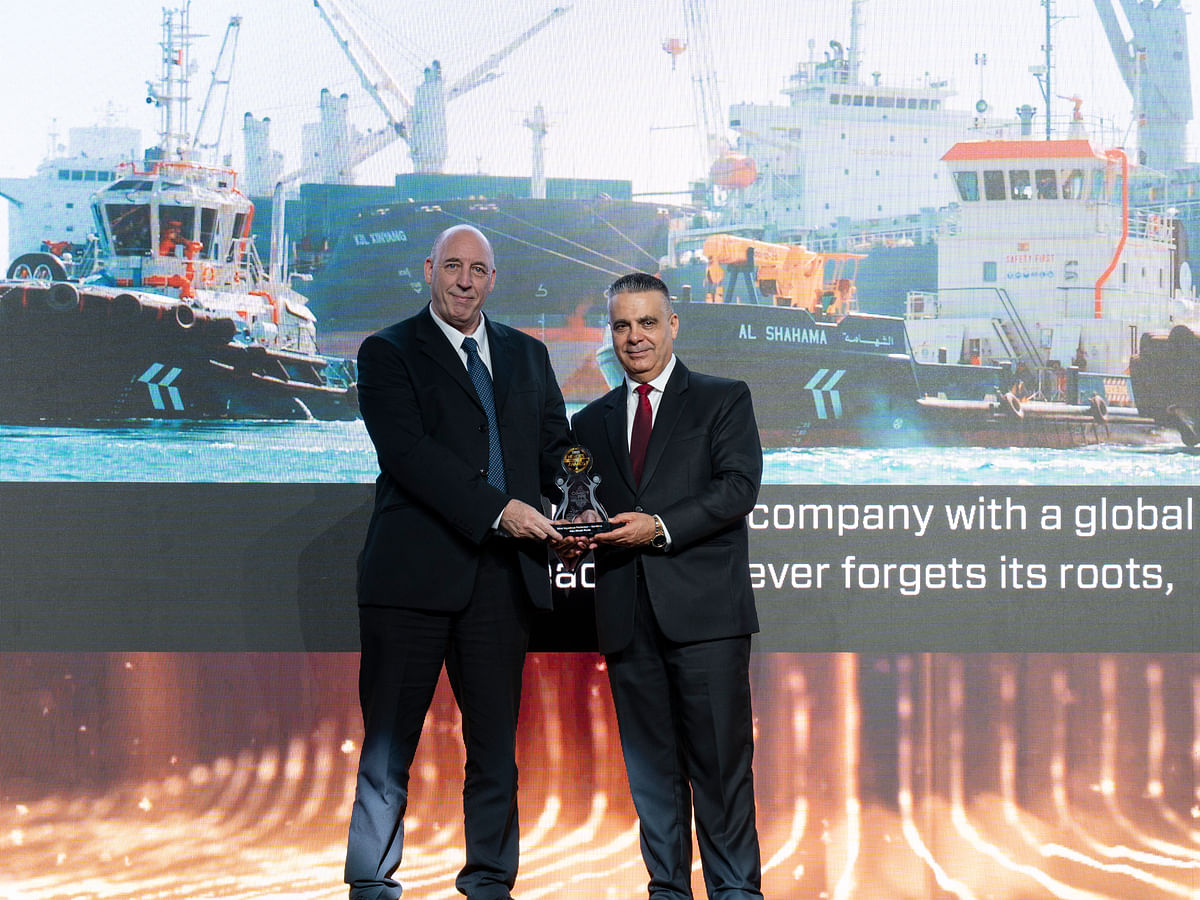 Abu Dhabi Ports – Ports Cluster Wins Most Ingenious Performer Maritime