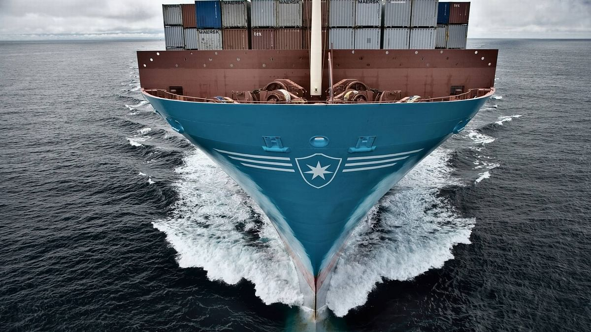 Maersk Signs Deal for World's First Methanol-Fueled Container Vessel