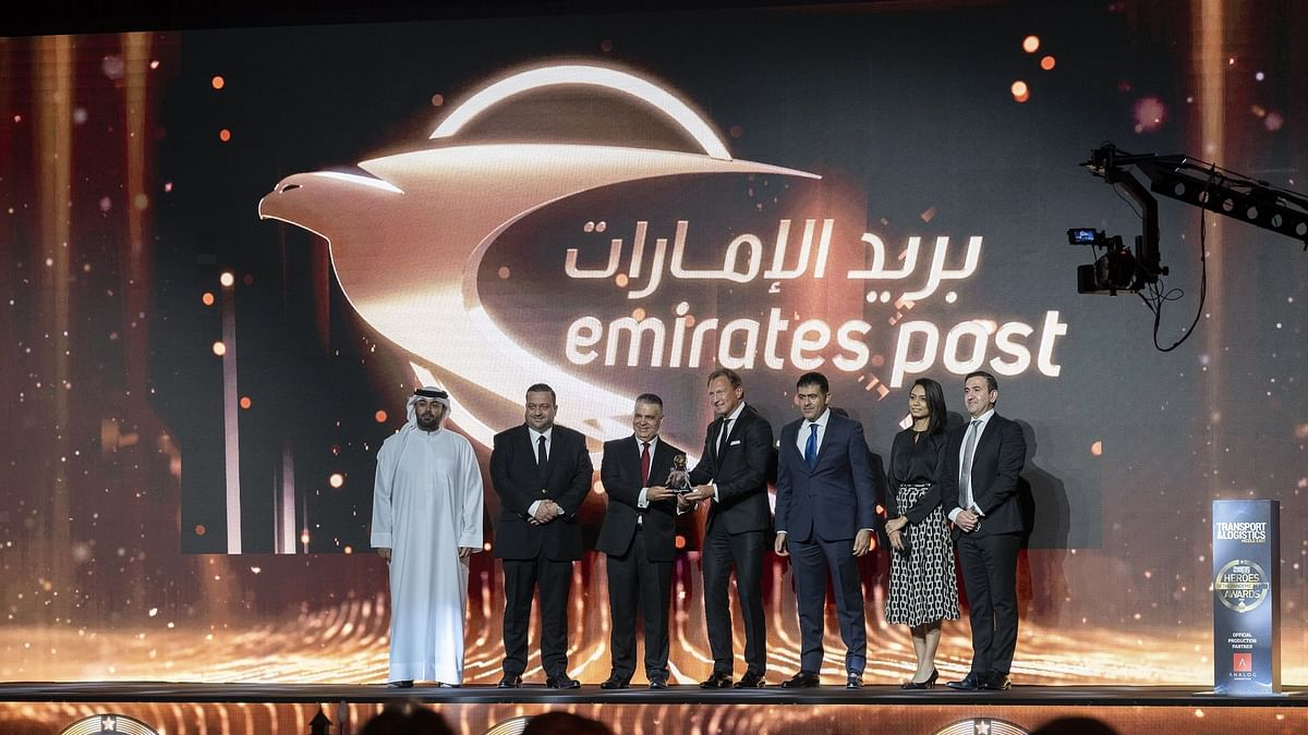 Emirates Post Wins Hero of the Pandemic - Speed & Efficiency Award