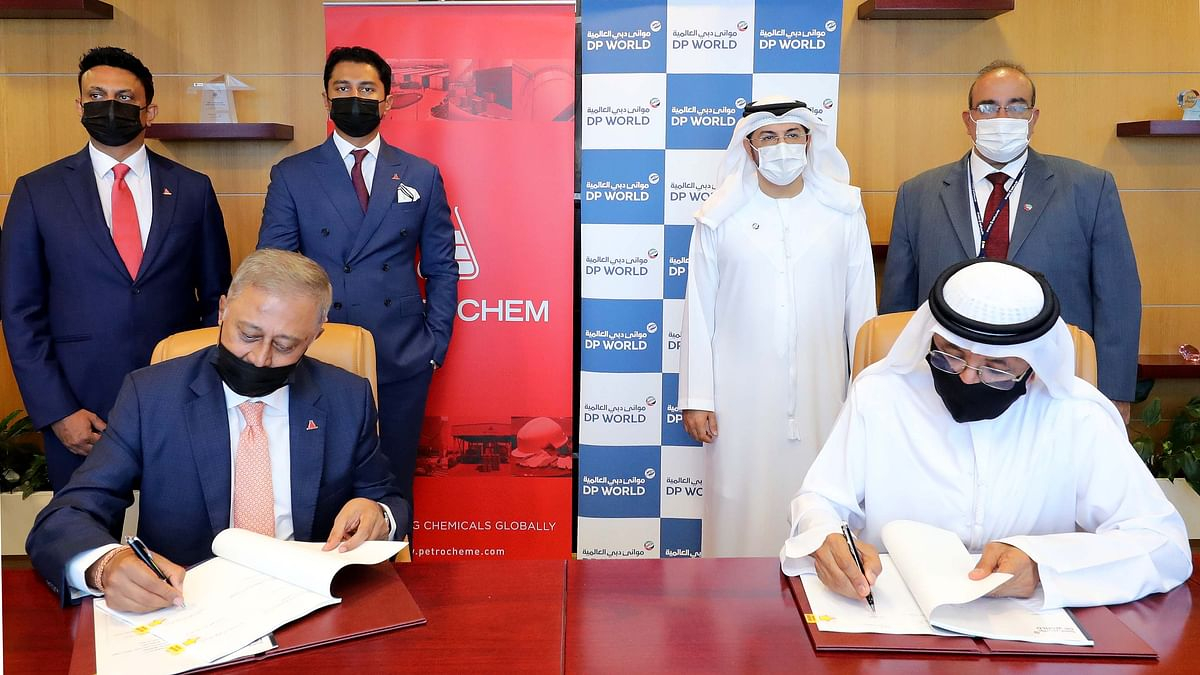 DP World, Petrochem Middle East to Build Mega Chemical Terminal