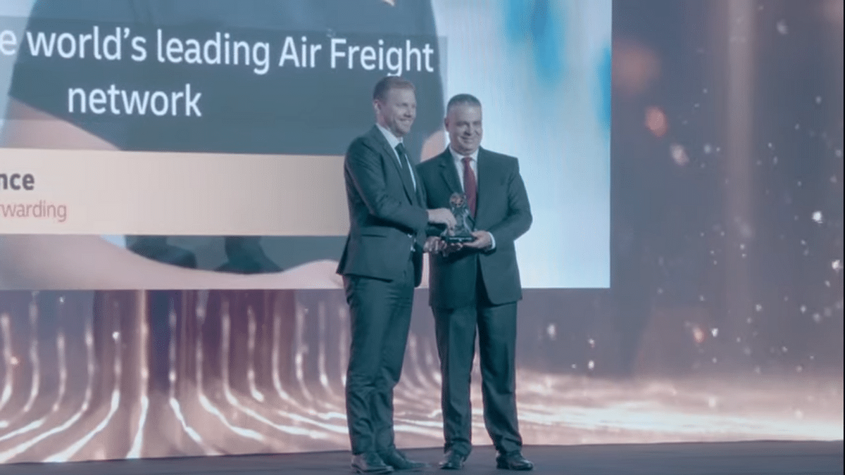 DHL Global Forwarding Wins 'Most Resilient Performer in Air Cargo'