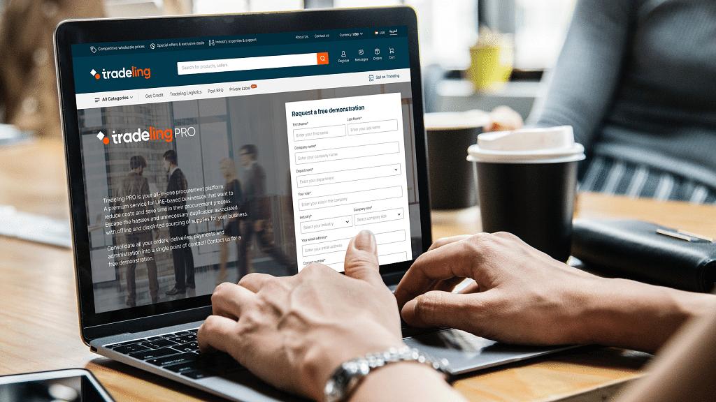 Tradeling Pro: An AI-Driven Digital Procurement Solution