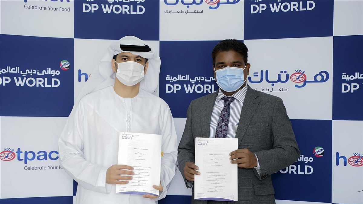 Hotpack Global Signs Terminal Agreement with DP World UAE Region