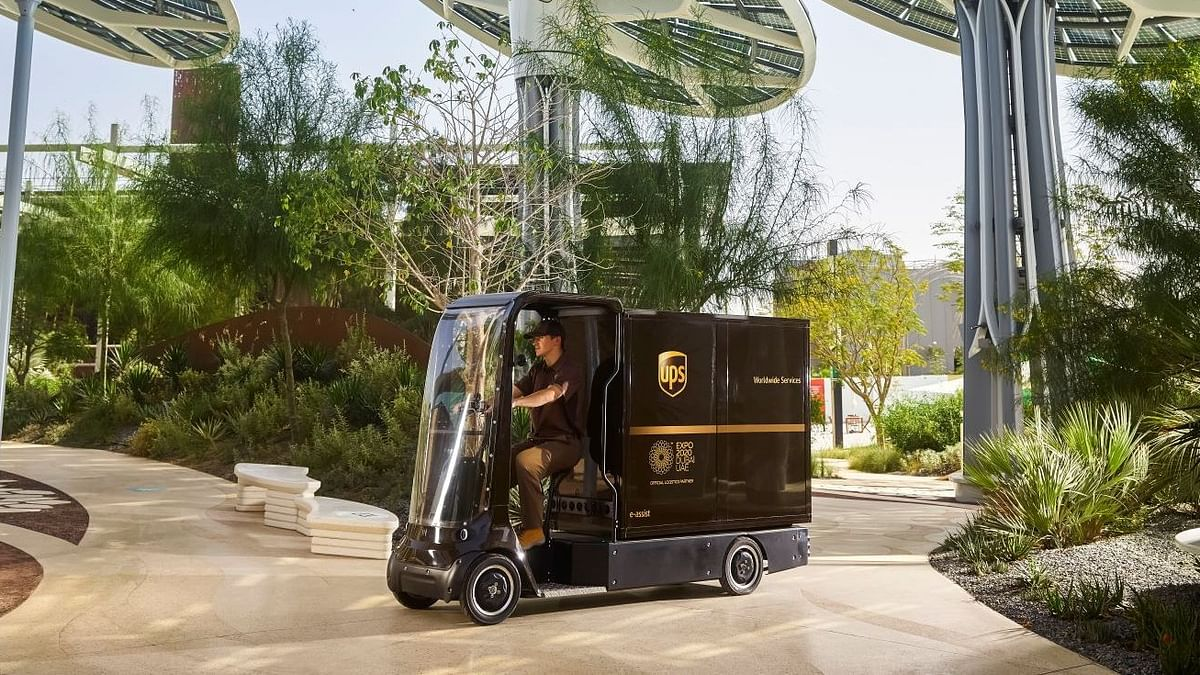 Watch: UPS Electrically-Assisted Cycles to Deliver at Expo 2020 Dubai
