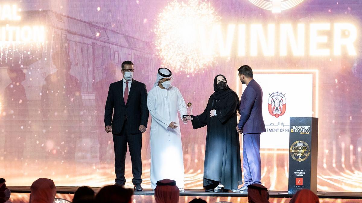 Dept of Health Abu Dhabi Wins Hero of the Pandemic - Best Performer