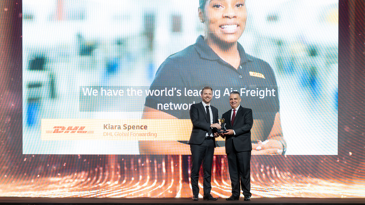 DHL Global Forwarding Wins Most Resilient Performer in Air Cargo Award