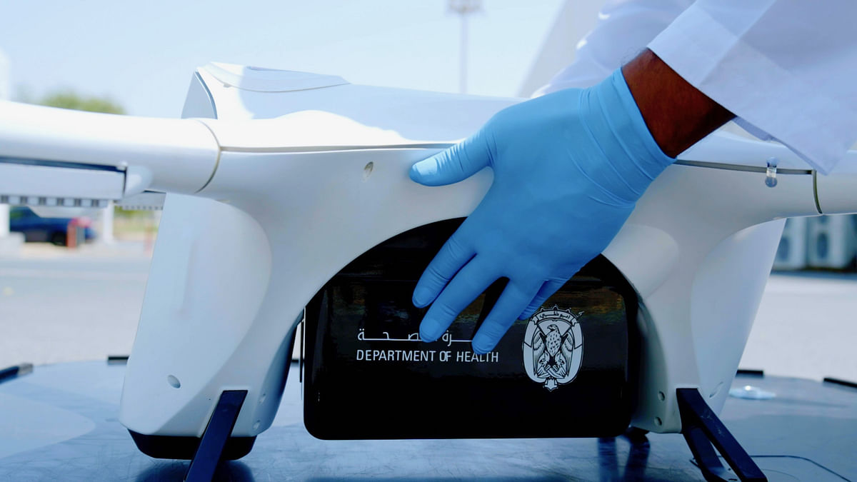 Abu Dhabi to Now Use Drones for Medical Supply Transfers and Delivery