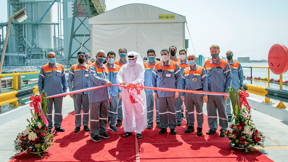 Alba Opens New Jetty Extension and Additional Raw Materials' Storage
