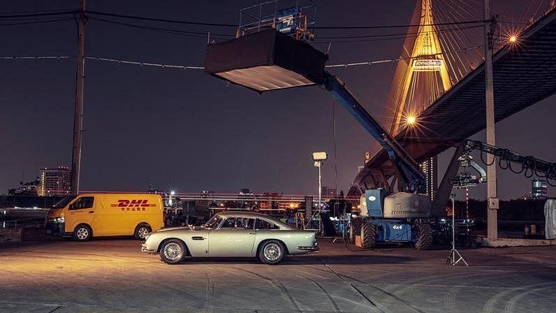 DHL Provides Transport & Logistics Solutions for James Bond