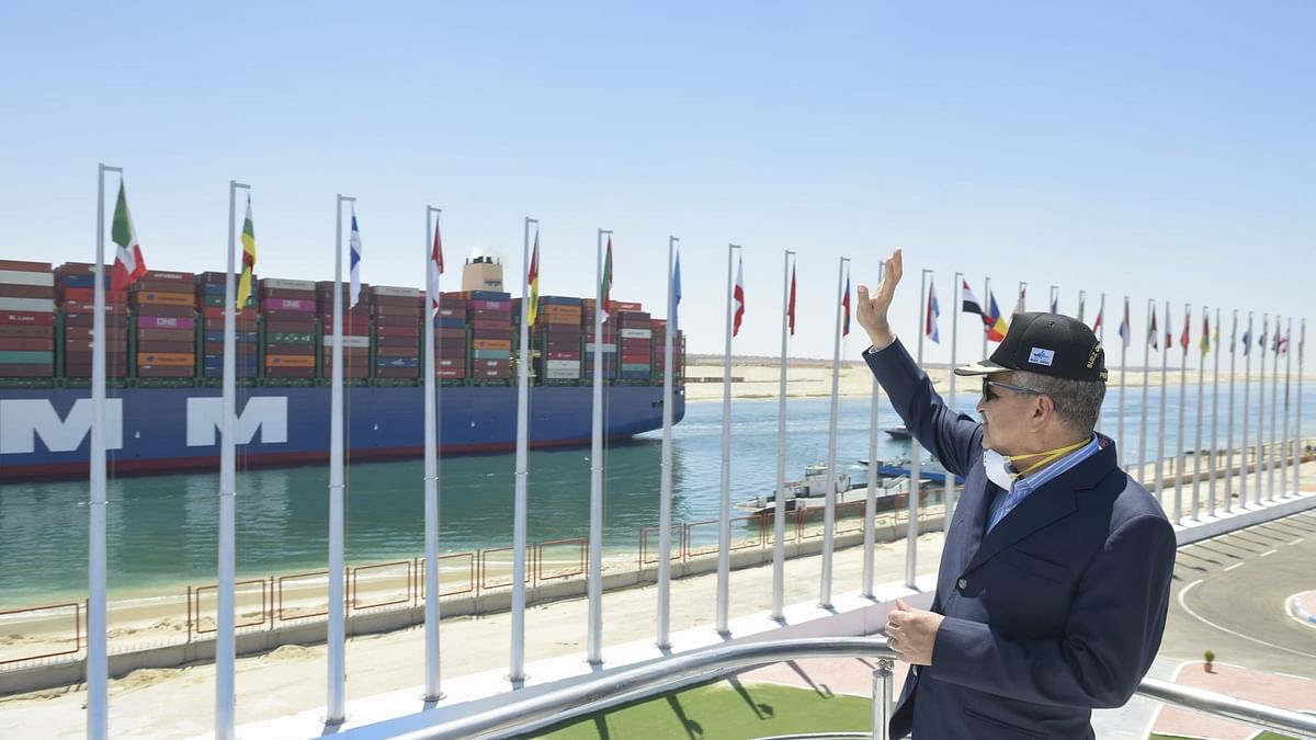 Suez Canal Records Highest Number of Transits in a Single Day