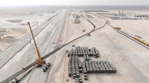 Etihad Rail Completes Construction Works of Package A, Stage Two