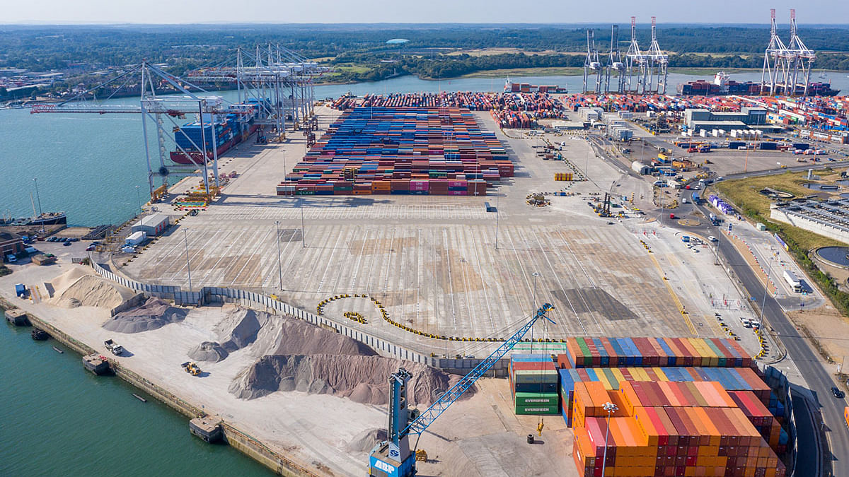 DP World Opens New Storage Park For Empty Containers At Southampton