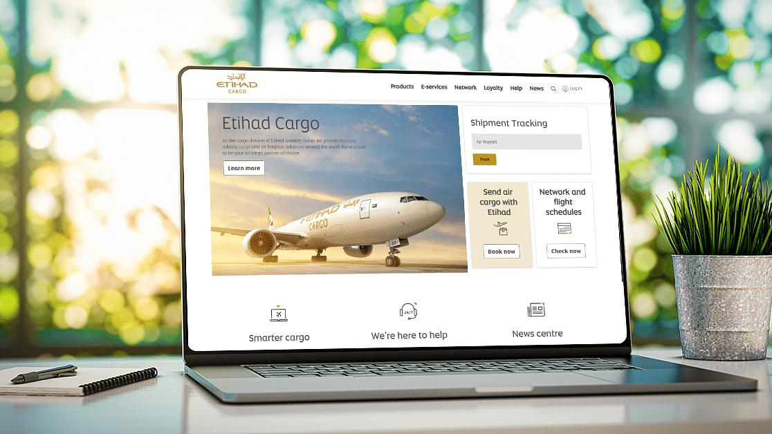 Etihad Cargo Strengthens Digital Footprint with a Revamped Website