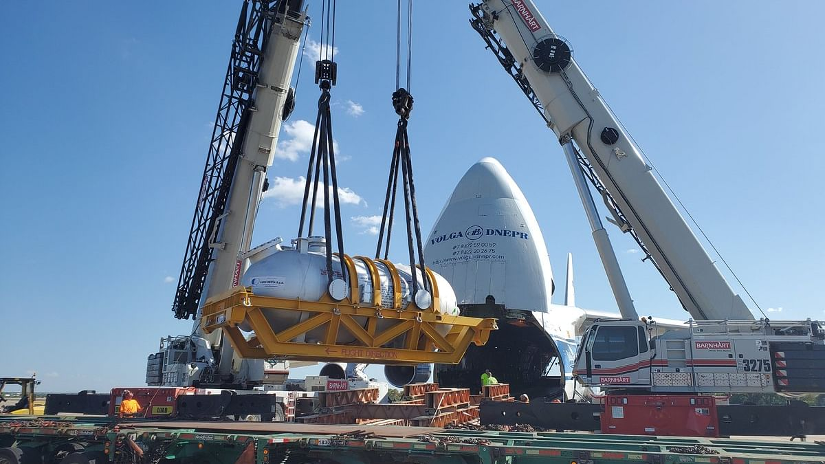 Watch: Volga-Dnepr Moves 83-Tonne Boiler With Meticulous Planning